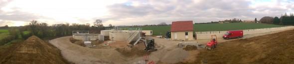 Le centre de traitement des eaux usées
