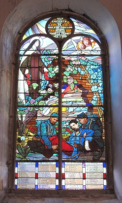 vitrail 1914-1918 redimensionnée