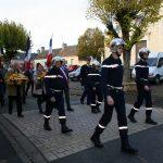 Les sapeurs-pompiers participaient au défilé.