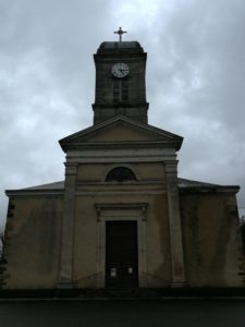 Réalisation d'une rampe d'accès à l'église