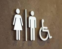 Travaux d'accessibilité : marquage au sol, WC,