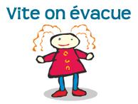 evacuation incendie