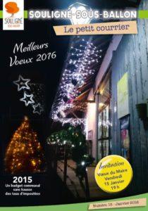 Couv n°18 janvier 2016