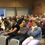 Les habitants sont venus en nombre assister à la restitution de l'étude
