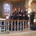 Concert de l'ensemble Vocalora à l'église