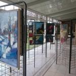 L'exposition dans la grande salle