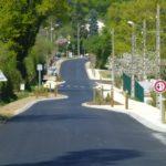 Travaux sur la RD 300 en centre bourg (photo d'illustration)